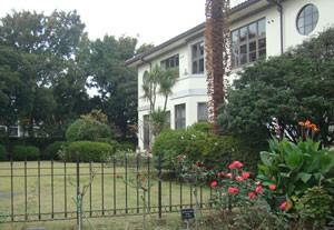 港の見える丘公園・イギリス館の庭