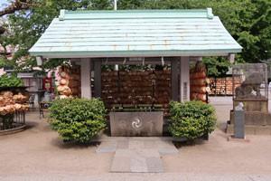 今戸神社の手水舎