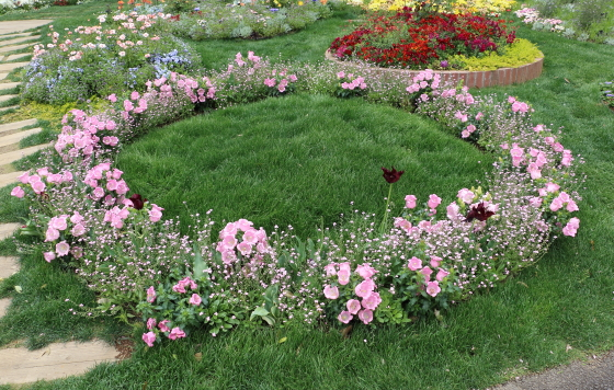 里山ガーデンの風景