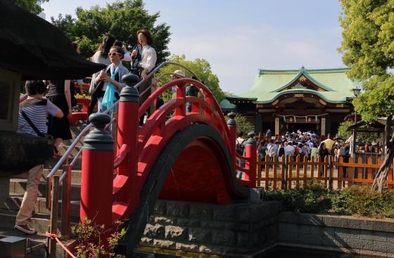 亀戸天神社の太鼓橋