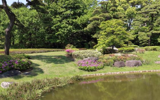 皇居東御苑の風景