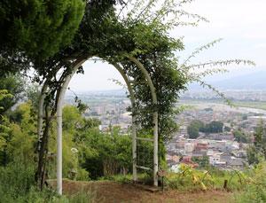 松田山ハーブガーデンの風景