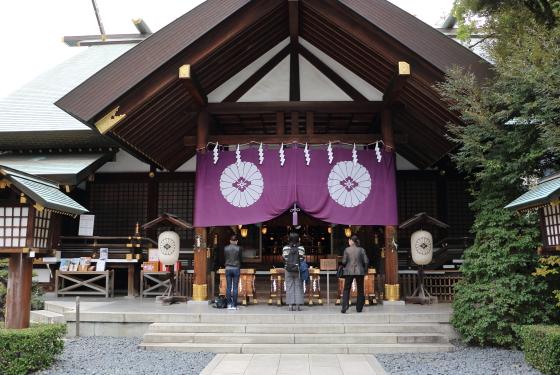 東京大神宮は飯田橋駅の近く