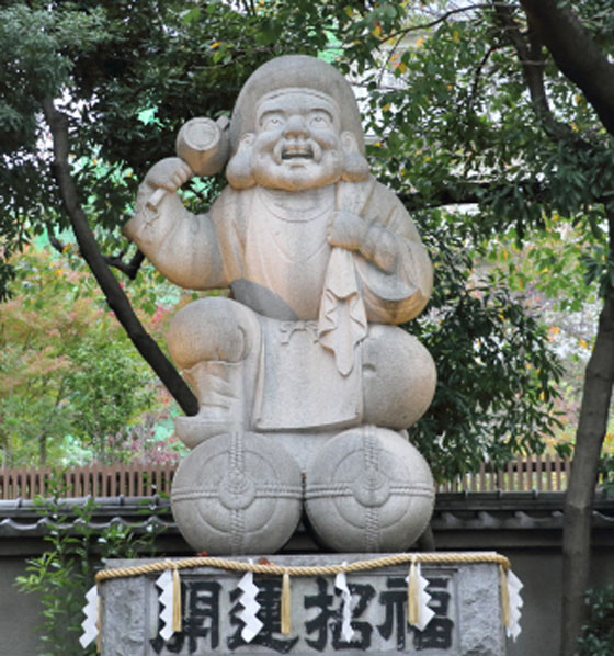 神田明神の大黒様像