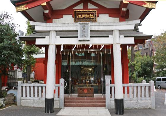 神田明神の摂末社である江戸神社