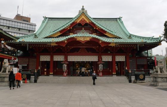神田明神の本殿です