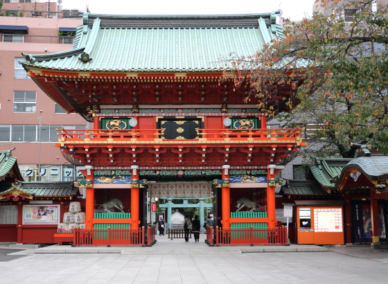 神田神社の楼門