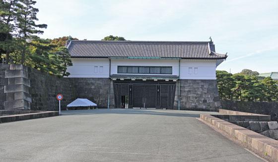 皇居 坂下門です