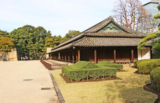 皇居 東御苑の風景