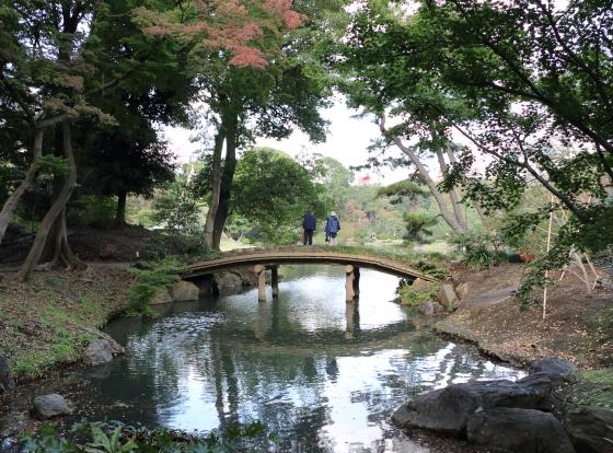 六儀園の園内風景