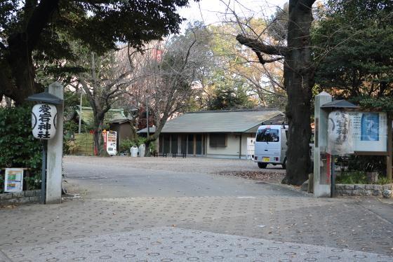 NHK放送博物館の入り口