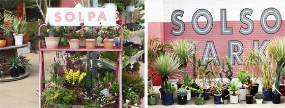 園芸店もあります