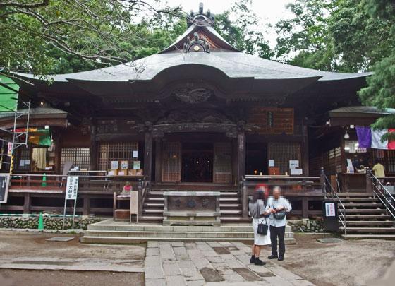 深大寺の本殿です